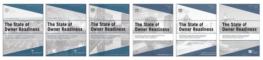 State of Owner Readiness six covers from major markets by EPI