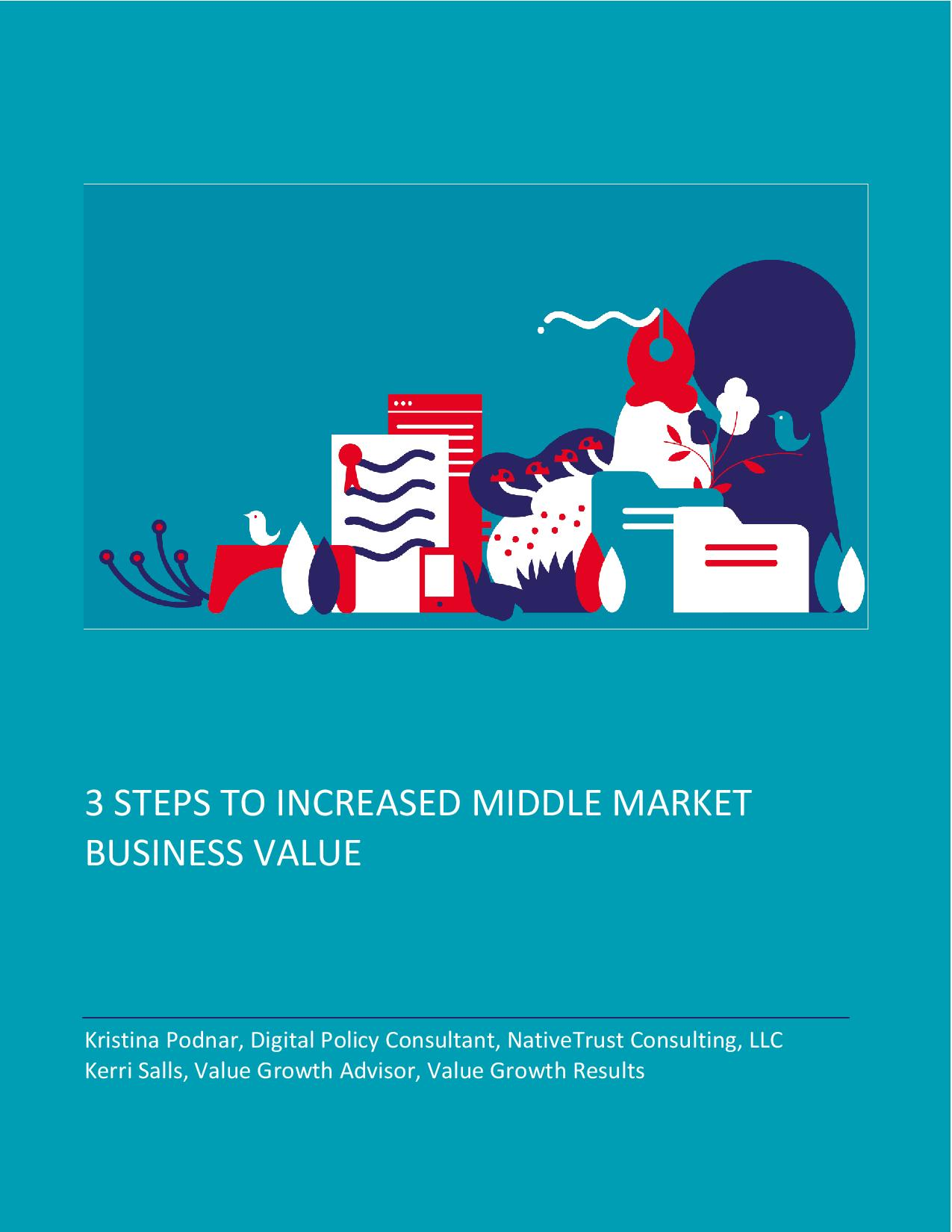 3 Steps to Increase Middle Market Business Value