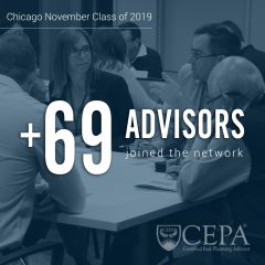 [Chicago, IL] EPI is Pleased to Welcome 69 New Advisors to the CEPA Community