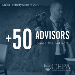[Dallas, TX] EPI is Pleased to Welcome 50 New Advisors to the CEPA Community