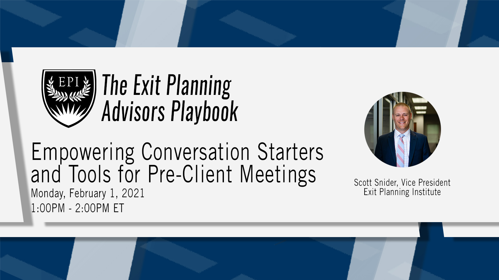 Conversations Starters and Tools for Pre-Client Meetings