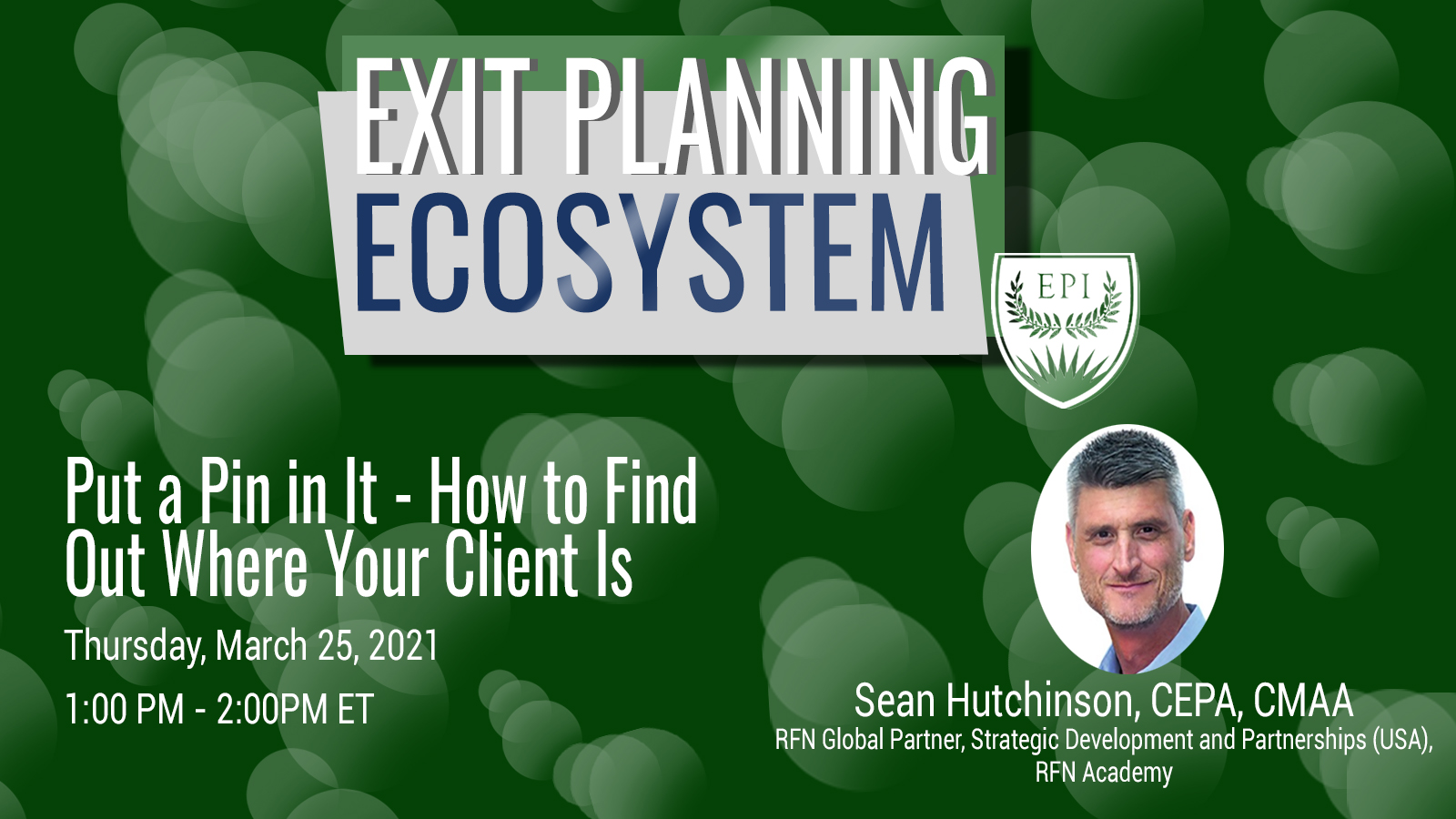 Put a Pin in It - How to Find Out Where Your Client Is
