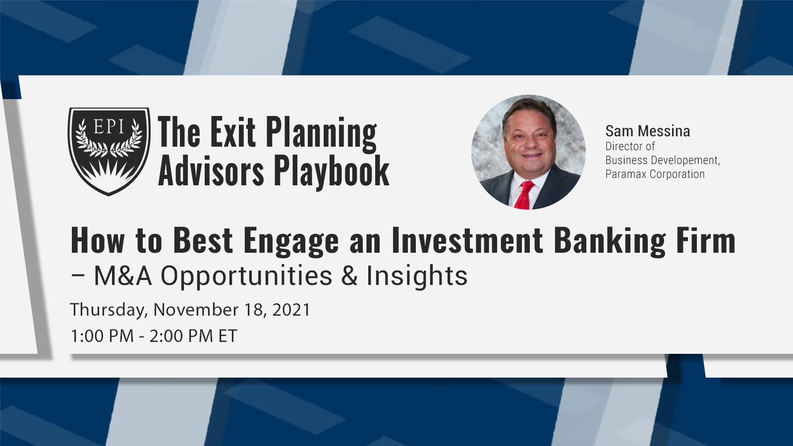 How to Best Engage an Investment Banking Firm