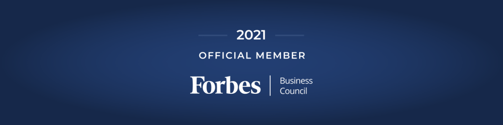 Forbes Business Council Official Member 2021 Image