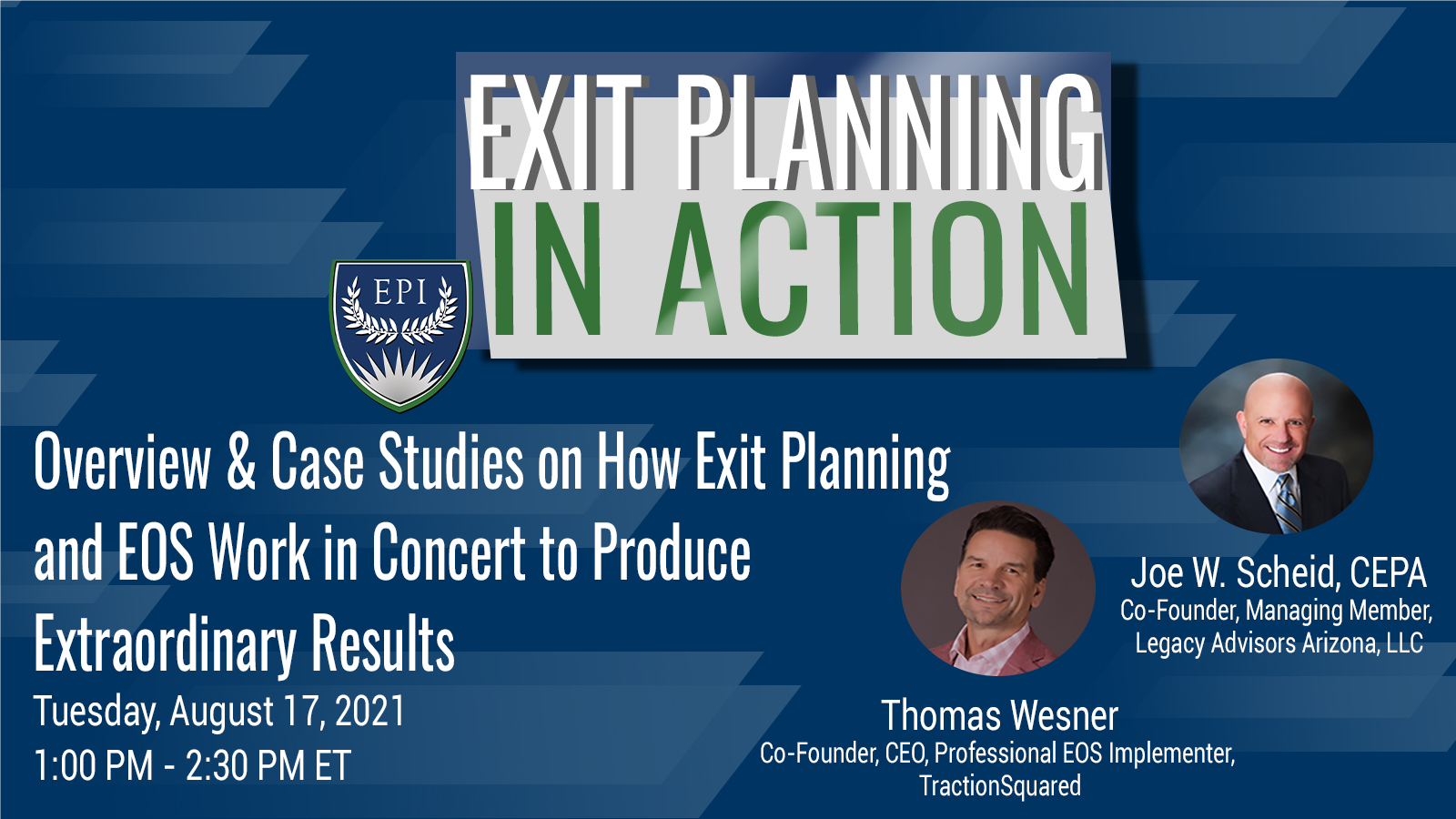 Overview & Case Studies on Exit Planning and EOS