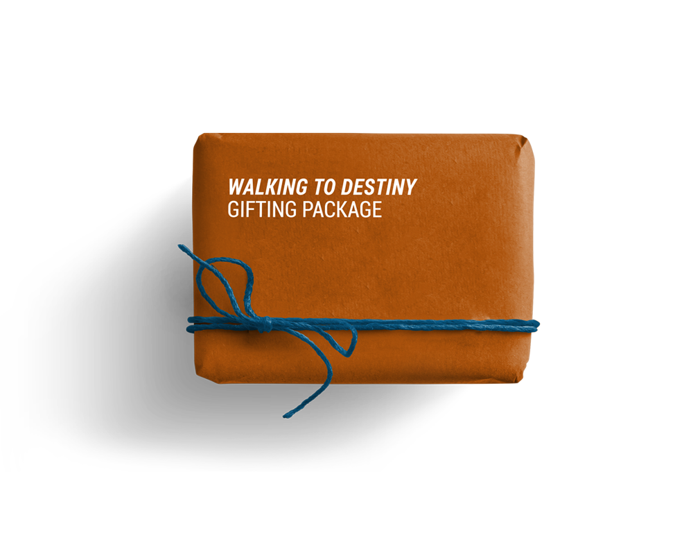 Walking to Destiny Gifting Package